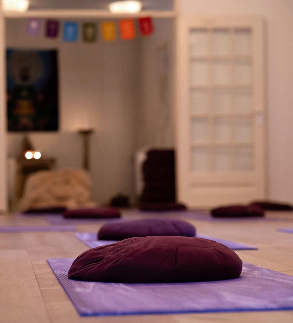Yoganidra in Alkmaar bij Yogaschool de Yogawereld